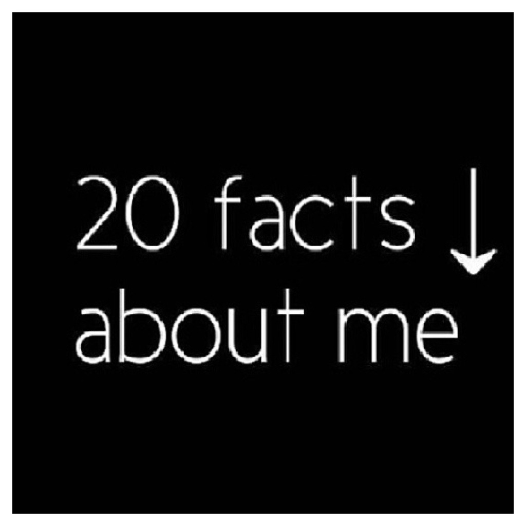 Like For 10 Facts About Me